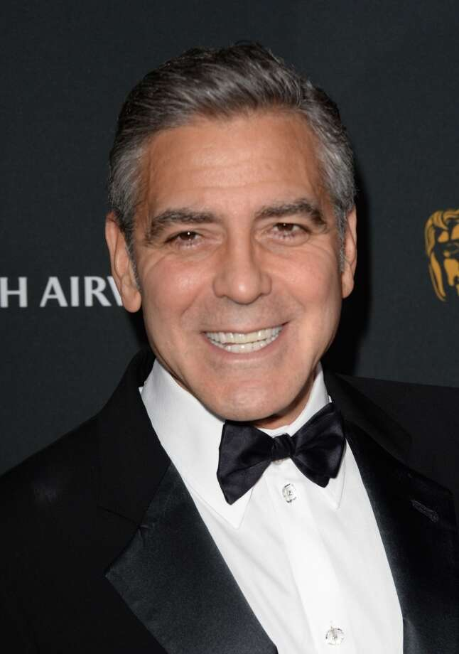 Actor George Clooney attends the 2013 BAFTA LA Jaguar Britannia Awards presented by BBC America at The Beverly Hilton Hotel on November 9, 2013 in Beverly Hills, California. Photo: Jason Merritt, Getty Images