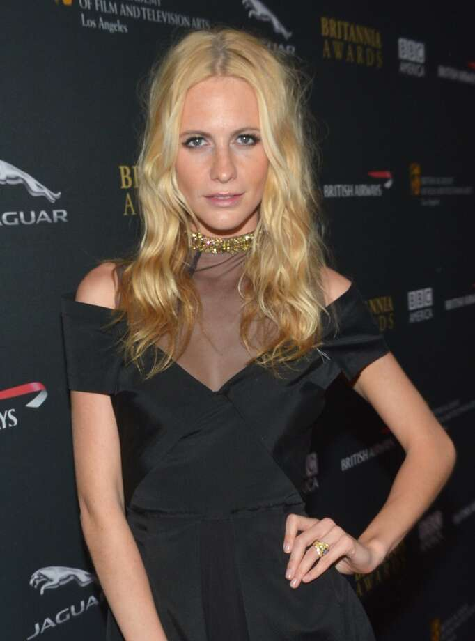 Model Poppy Delevingne attends the 2013 BAFTA LA Jaguar Britannia Awards presented by BBC America at The Beverly Hilton Hotel on November 9, 2013 in Beverly Hills, California. Photo: Michael Buckner/BAFTA LA, Getty Images