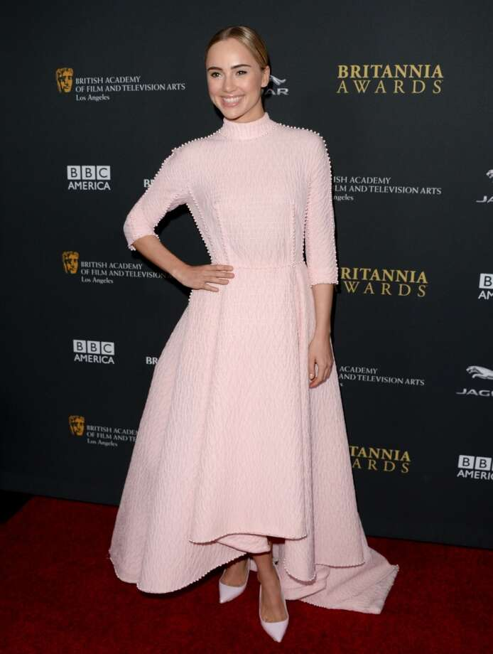 Model Suki Waterhouse attends the 2013 BAFTA LA Jaguar Britannia Awards presented by BBC America at The Beverly Hilton Hotel on November 9, 2013 in Beverly Hills, California. Photo: Jason Merritt, Getty Images