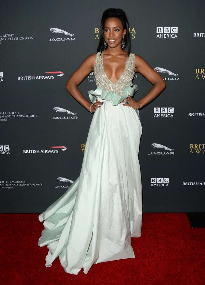 Singer Kelly Rowland attends the 2013 BAFTA LA Jaguar Britannia Awards presented by BBC America at The Beverly Hilton Hotel on November 9, 2013 in Beverly Hills, California. Photo: Jason Merritt, Getty Images