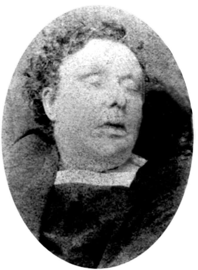 Scotland Yard photo showing Annie Chapman, one of the victims of serial killer Jack the Ripper in September 1888 - picture from Scotland Yard of Annie Chapman victim of serial killer Jack the Ripper September 1888 Photo: Apic, Getty Images / ©APIC
