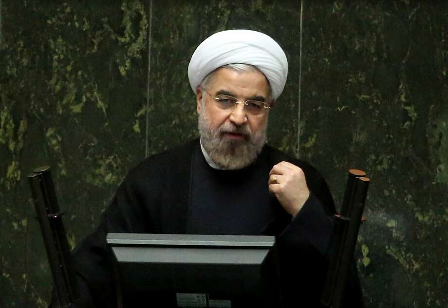 President Hassan Rouhani wants to dispel the idea of a stalemate. Photo: Ebrahim Noroozi, Associated Press