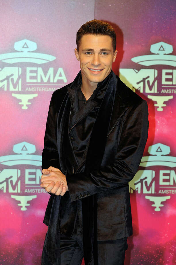 US actor Colton Haynes poses as he arrives to attend the MTV European Music Awards (EMA) 2013 at the Ziggo Dome on November 10, 2013 in Amsterdam, The Netherlands. Photo: JOHN THYS, Getty Images / AFP