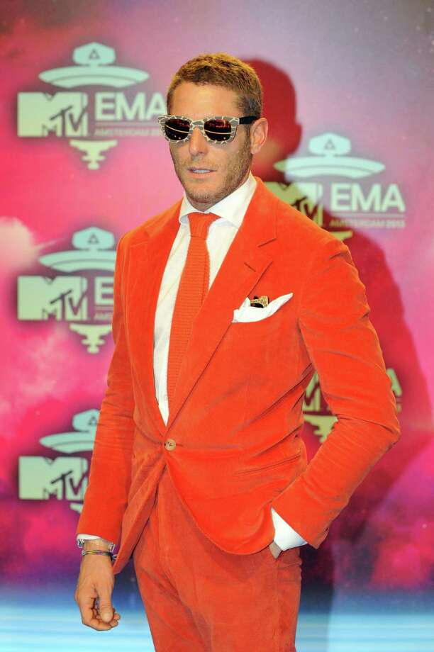 Italian businessman and family heir of Fiat, Lapo Elkann poses as he arrives to attend the MTV European Music Awards (EMA) 2013 at the Ziggo Dome on November 10, 2013 in Amsterdam, The Netherlands. Photo: JOHN THYS, Getty Images / AFP