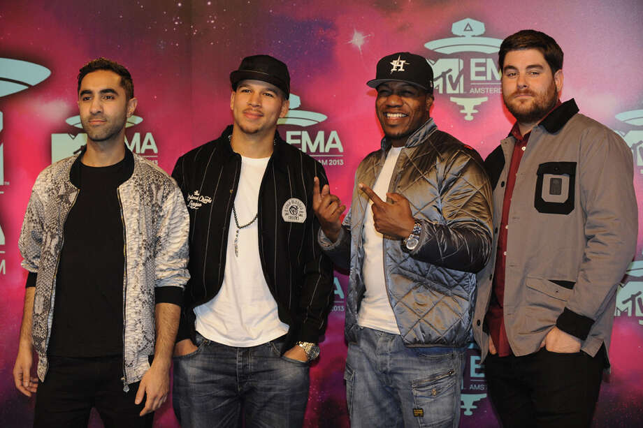 Members of British electronic music quartet Rudimental pose as they arrive to attend the MTV European Music Awards (EMA) 2013 at the Ziggo Dome on November 10, 2013 in Amsterdam, The Netherlands. Photo: JOHN THYS, Getty Images / AFP