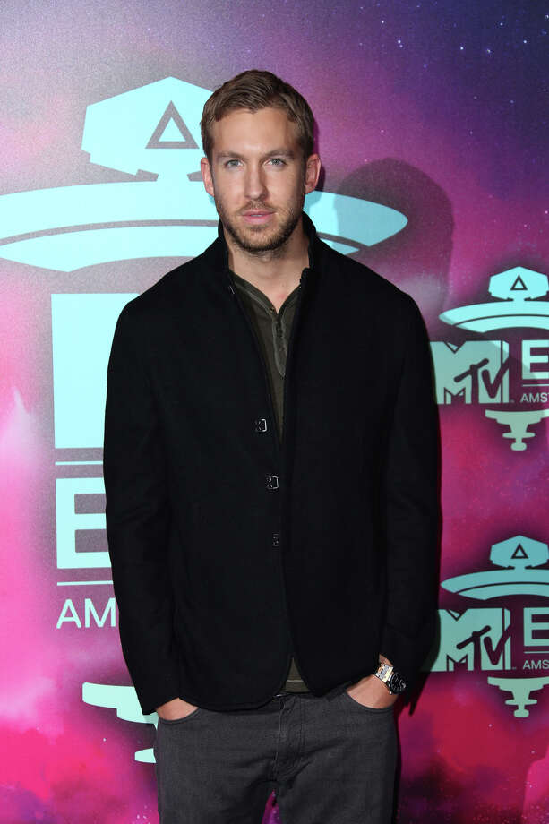 Calvin Harris poses for photographers upon arrival at the 2013 MTV Europe Music Awards, in Amsterdam, Netherlands, Sunday, Nov. 10, 2013. Photo: Joel Ryan, Associated Press / Invision