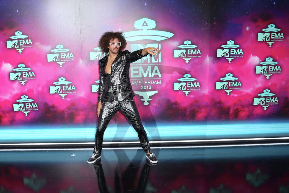 Redfoo poses for photographers upon arrival at the 2013 MTV Europe Music Awards, in Amsterdam, Netherlands, Sunday, Nov. 10, 2013. Photo: Joel Ryan, Associated Press / Invision