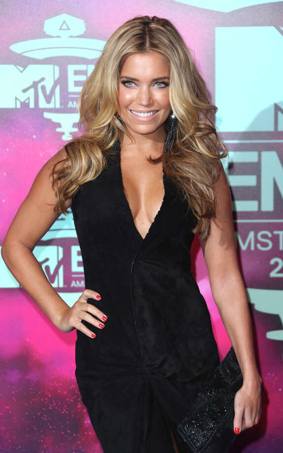 Sylvie Meis arrives for the 2013 MTV Europe Music Awards, in Amsterdam, Netherlands, Sunday, Nov. 10, 2013. Photo: Joel Ryan, Associated Press / Invision