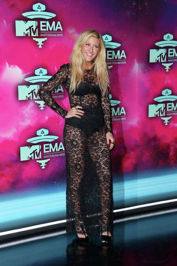 Ellie Goulding poses for photographers upon arrival at the 2013 MTV Europe Music Awards, in Amsterdam, Netherlands, Sunday, Nov. 10, 2013. Photo: Joel Ryan, Associated Press / Invision