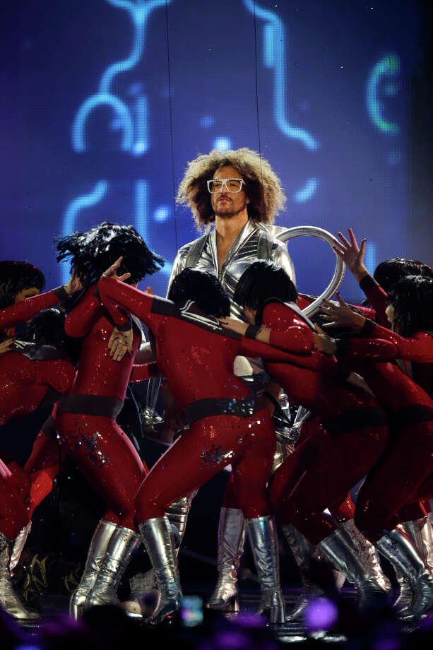 Redfoo performs at the 2013 MTV Europe Music Awards in Amsterdam, Netherlands, Sunday, Nov. 10, 2013. Photo: Peter Dejong, Associated Press / AP