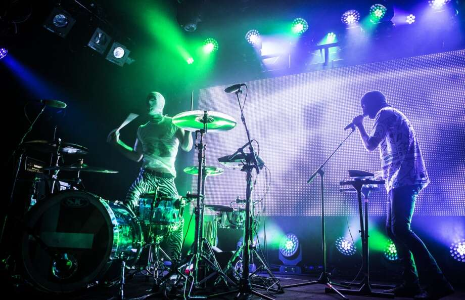 Twenty One Pilots perform at the Independent in San Francisco on November 7, 2013. Photo: FilterlessCo