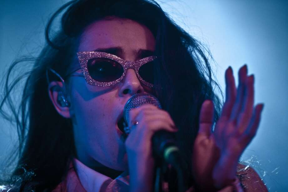 Charlie XCX performs at Slim's in San Francisco on October 28, 2013. Photo: Lance Skundrich, FilterlessCo