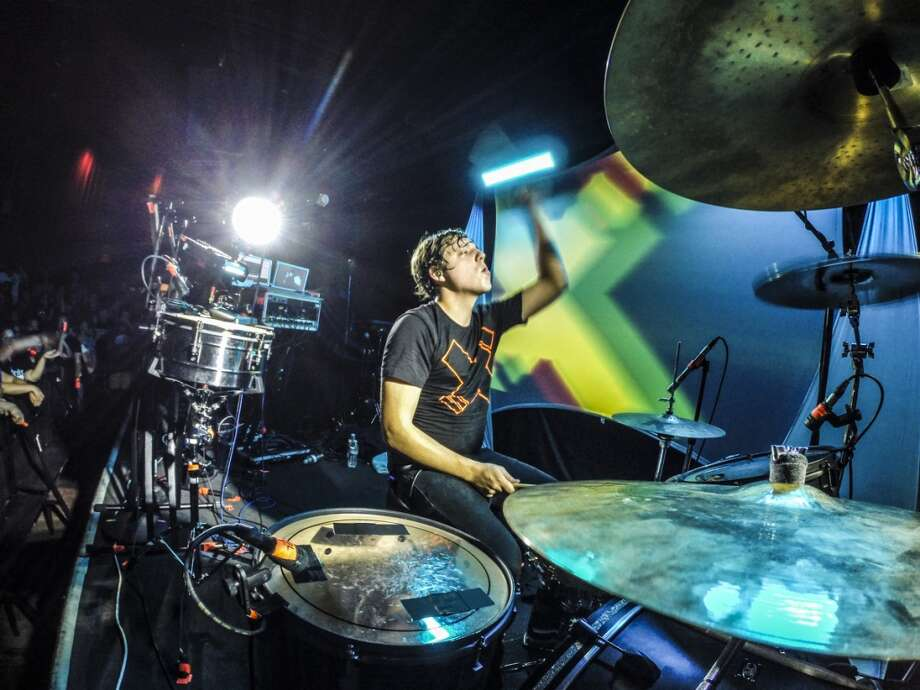 Robert DeLong performs at the Independent in San Francisco on November 7, 2013. Photo: FilterlessCo