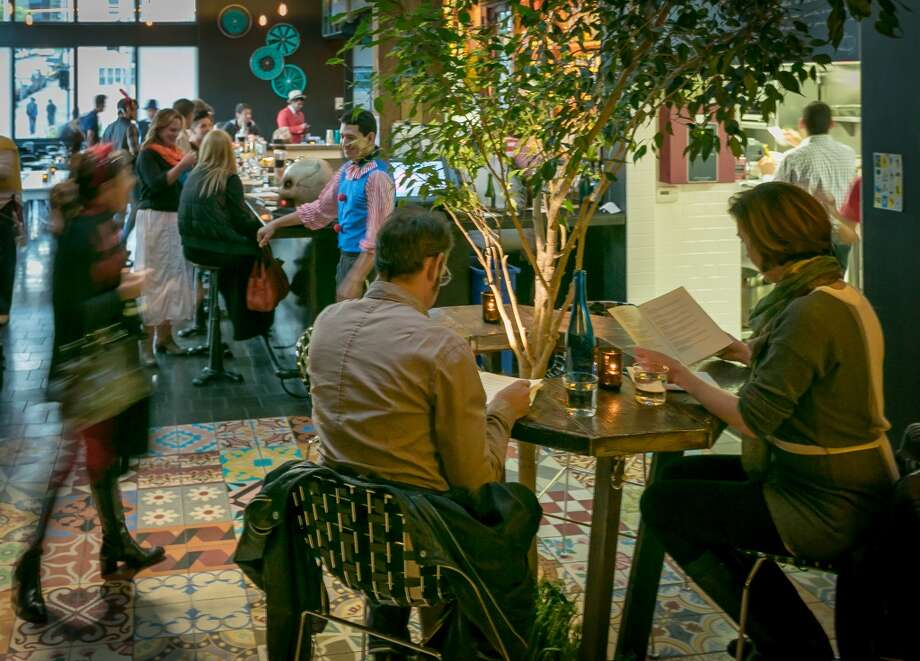 The bar at La Urbana in San Francisco. Photo: John Storey, Special To The Chronicle