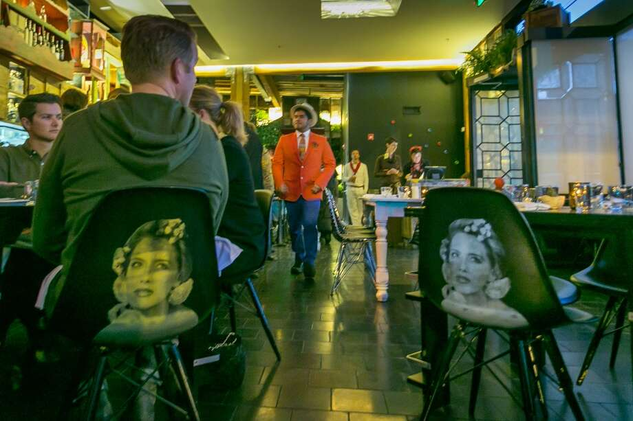Diners enjoy dinner at La Urbana in San Francisco. Photo: John Storey, Special To The Chronicle