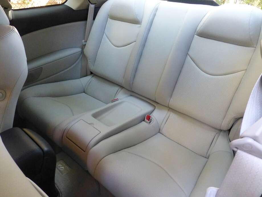 The back seats are big enough for adults, but you don't really want to spend much time there.