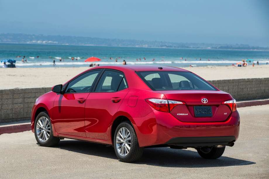 Corolla S from the rear. Photo: Toyota