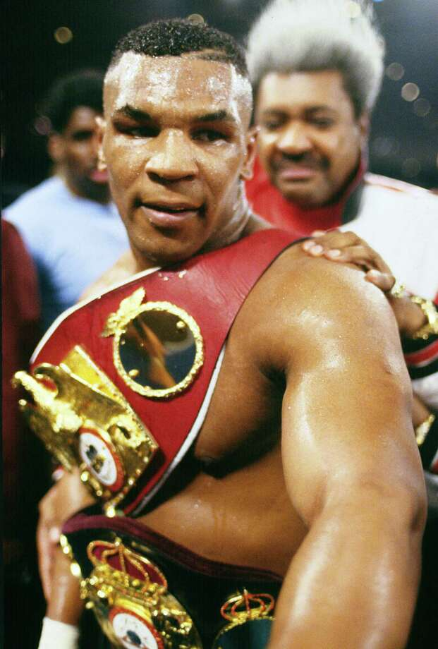As a professional boxer, Mike Tyson won the heavyweight champion of the world title and is known as one of the sport's hardest hitters. Photo: Focus On Sport, Getty Images / 1996 Focus on Sport