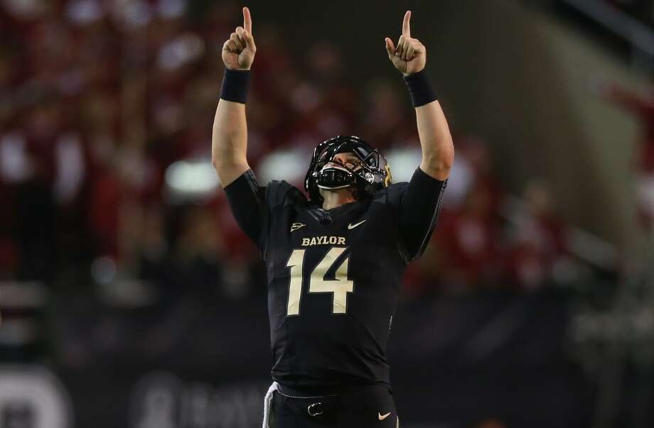 Baylor is eight wins into the bullet train to the Big 12 title.