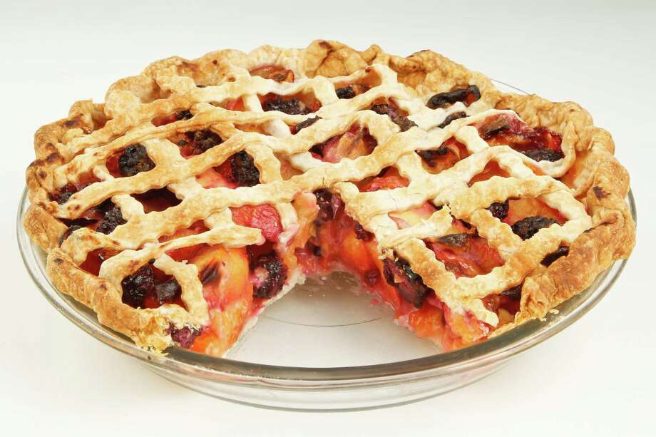 8) Lattice-top Blackberry-Nectarine Pie, by Sarah Zimmer, at the Kitchen Incubator Thursday, June 2, 2011, in Houston. ( Michael Paulsen / Houston Chronicle ) Photo: Michael Paulsen, Staff / © 2011 Houston Chronicle