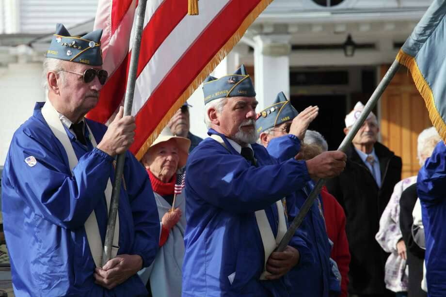 St Margaret Shrine holds its fourth annual Veterans Day Mass in Bridgeport, Conn.  on Monday,  November 11, 2013. Photo: BK Angeletti, B.K. Angeletti / Connecticut Post freelance B.K. Angeletti