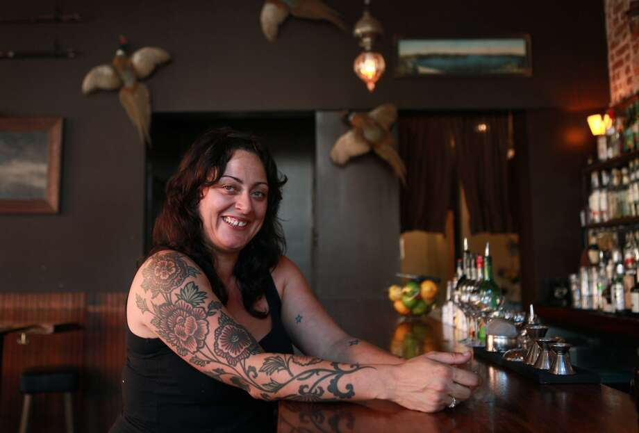 Alexeis Filipello of Bar Dogwood and Stagg's Lunchette in Oakland. Photo: Liz Hafalia, The Chronicle