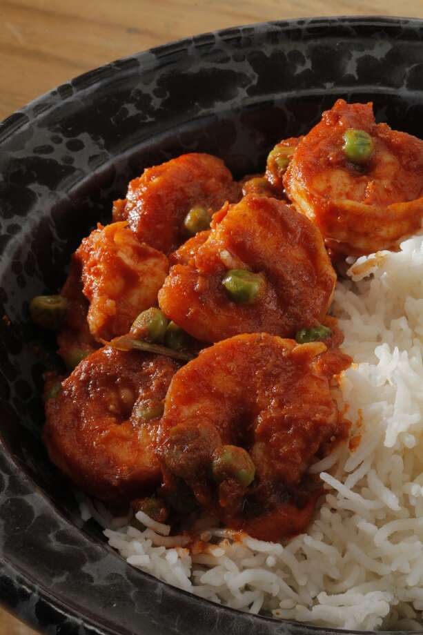 Shrimp Curry by Preeti Mistry, Juhu Beach Club. Photo: Craig Lee, Special To The Chronicle
