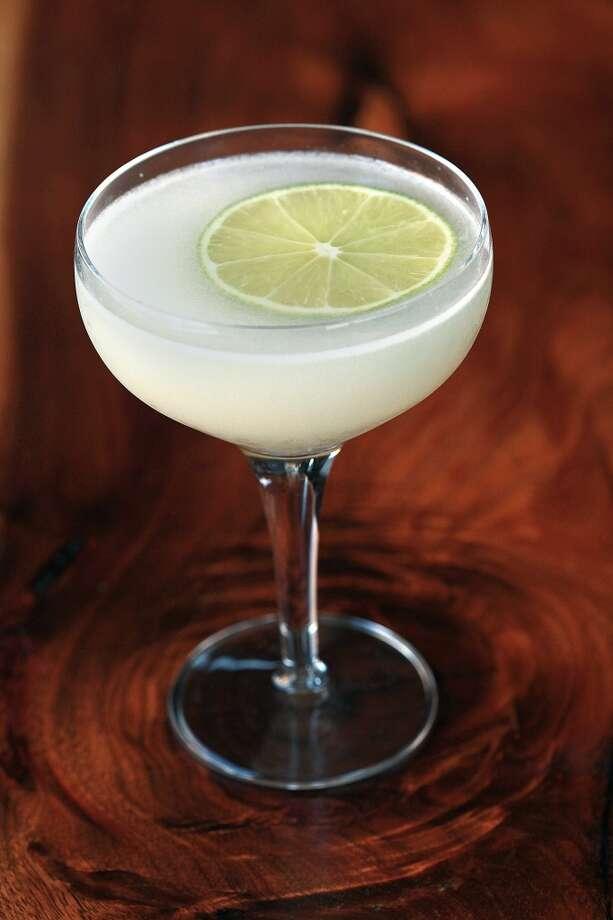 Almendra cocktail by Dogwood. Photo: Liz Hafalia, The Chronicle