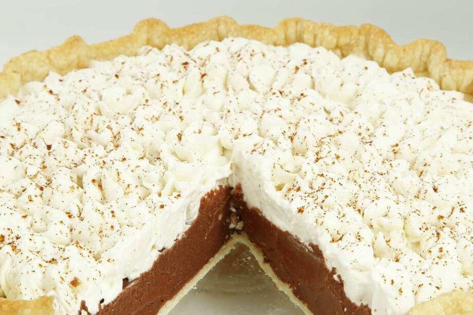 14) Mayan Chocolate Cream Pie, by Patti Brady, at the Kitchen Incubator Thursday, June 2, 2011, in Houston. ( Michael Paulsen / Houston Chronicle ) Photo: Michael Paulsen, Staff / © 2011 Houston Chronicle