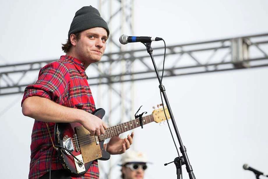 Vocalist/musician Mac DeMarco performs on stage during Day 1 of Fun Fun Fun Fest at Auditorium Shores on November 8, 2013 in Austin, Texas.  (Photo by Rick Kern/Getty Images) Photo: Rick Kern, Getty Images / 2013 Rick Kern