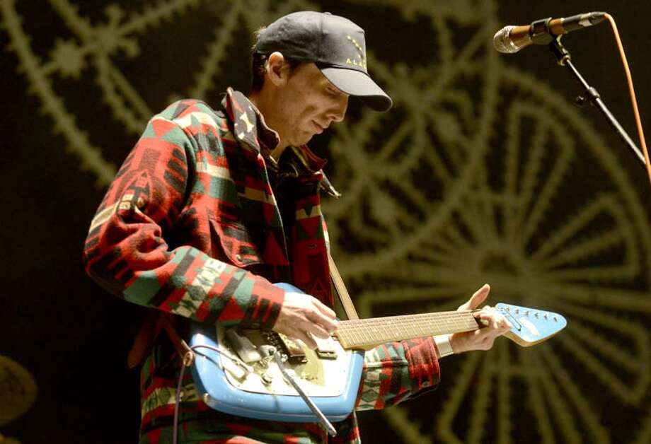 Bradford Cox of Deerhunter performs as part of the Fun Fun Fun Festival at Auditorium Shores on November 9, 2013 in Austin, Texas. (Photo by Tim Mosenfelder/Getty Images) Photo: Tim Mosenfelder, Getty Images / 2013 Tim Mosenfelder