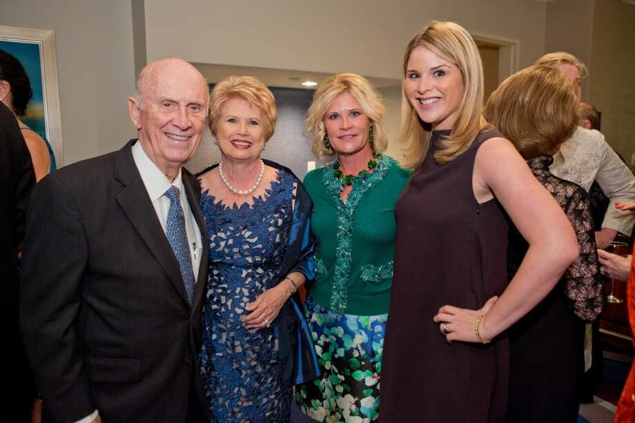Jack Blanton, Ginger Blanton, Kelli Blanton, Jenna Bush Hager    (photo credit: carsonphotos.com) Photo: RICHARD CARSON, CARSONPHOTOS.COM