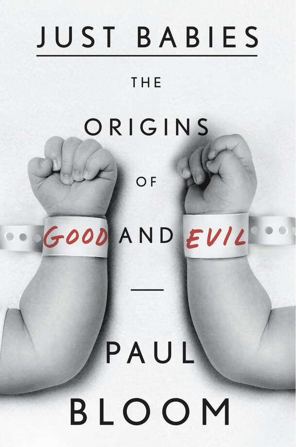 "Yale psychology professor Paul Bloom examines the roots of morality in his new book ""Just Babies"" based on his original research at the Infant Cognition Center in New Haven. Photo: Contributed Photo / Connecticut Post Contributed"