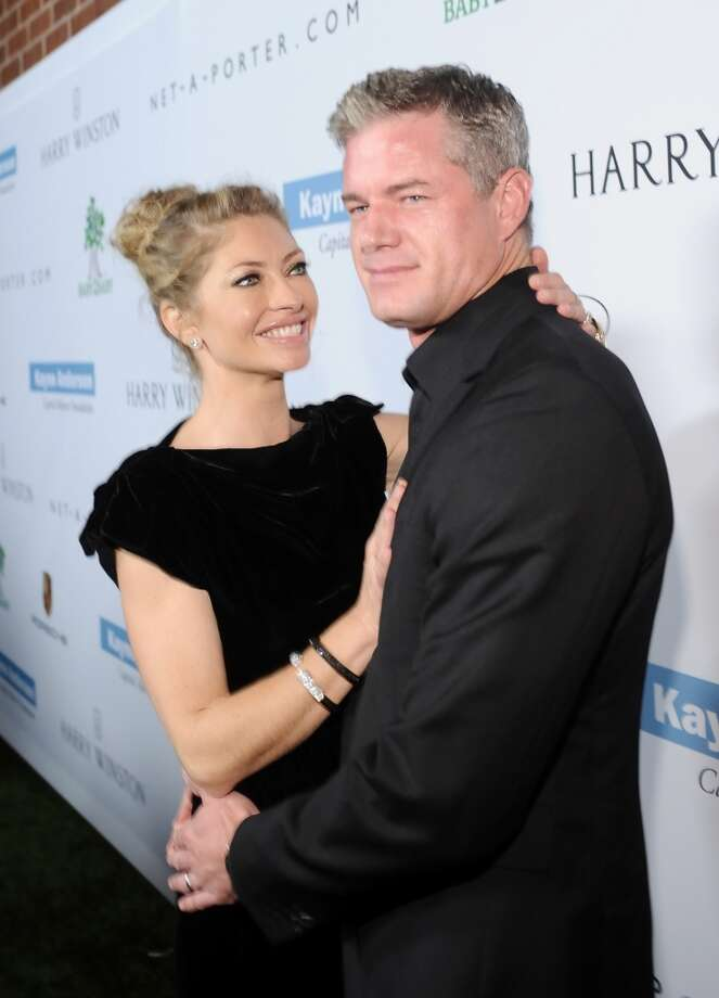 Actors Rebecca Gayheart (L) and Eric Dane attend the second annual Baby2Baby Gala, honoring Drew Barrymore, at Book Bindery on November 9, 2013 in Culver City, California. Photo: Stefanie Keenan, Getty Images For Baby2Baby