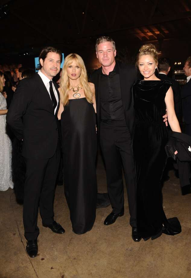 (L-R)  Rodger Berman, Rachel Zoe, actors Eric Dane and Rebecca Gayheart attend the second annual Baby2Baby Gala, honoring Drew Barrymore, at Book Bindery on November 9, 2013 in Culver City, California. Photo: Stefanie Keenan, Getty Images For Baby2Baby