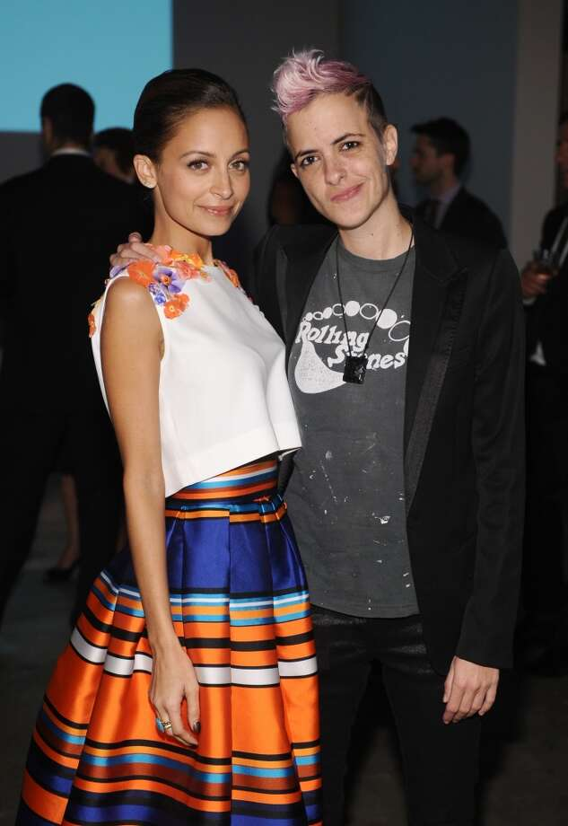 Baby2Baby board member Nicole Richie (L) and DJ Samantha Ronson attend the second annual Baby2Baby Gala, honoring Drew Barrymore, at Book Bindery on November 9, 2013 in Culver City, California. Photo: Stefanie Keenan, Getty Images For Baby2Baby