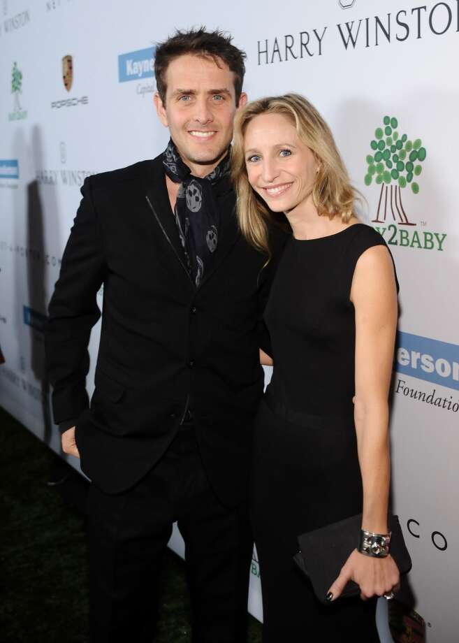 Joey McIntyre (L) and Barrett Williams attend the second annual Baby2Baby Gala, honoring Drew Barrymore, at Book Bindery on November 9, 2013 in Culver City, California. Photo: Stefanie Keenan, Getty Images For Baby2Baby