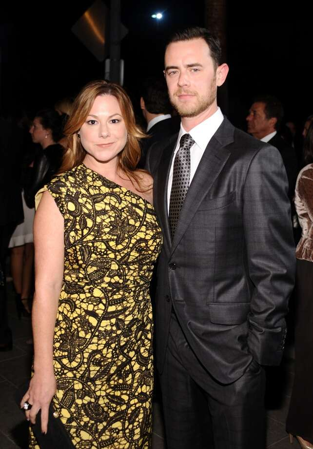 Actor Colin Hanks (R) and Samantha Bryant attend the second annual Baby2Baby Gala, honoring Drew Barrymore, at Book Bindery on November 9, 2013 in Culver City, California. Photo: Stefanie Keenan, Getty Images For Baby2Baby