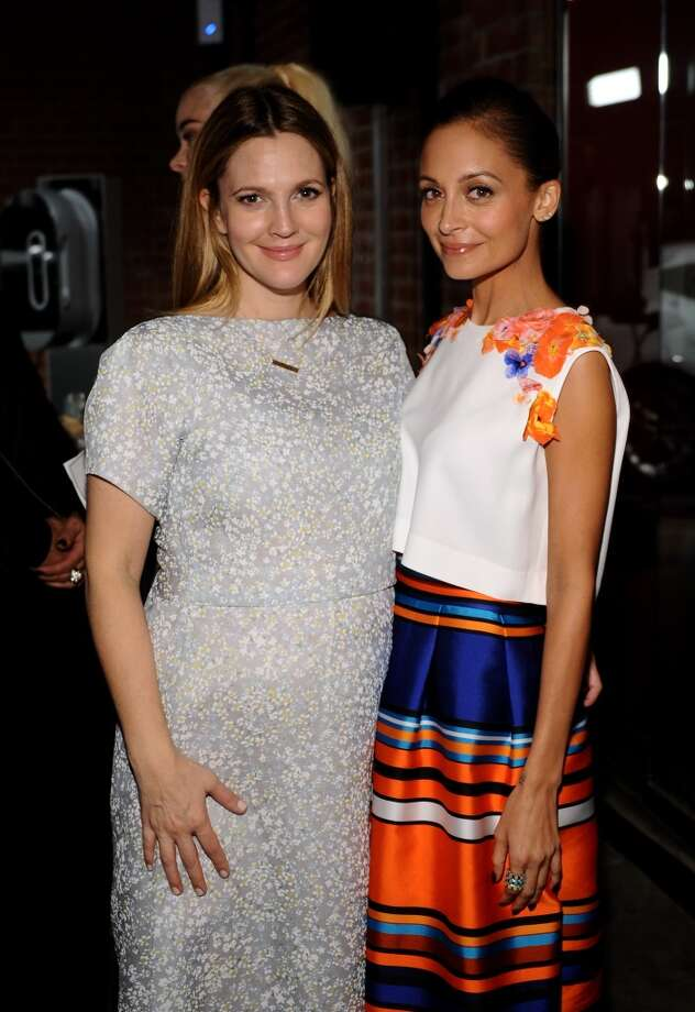 Honoree Drew Barrymore (L) and Baby2Baby board member Nicole Richie attend the second annual Baby2Baby Gala, honoring Drew Barrymore, at Book Bindery on November 9, 2013 in Culver City, California.  Getty Images for Baby2Baby Photo: Stefanie Keenan, Getty Images For Baby2Baby