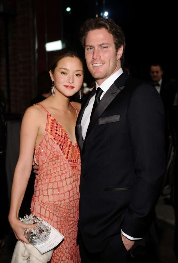 Devon Aoki (L) and James Bailey attend the second annual Baby2Baby Gala, honoring Drew Barrymore, at Book Bindery on November 9, 2013 in Culver City, California. Photo: Stefanie Keenan, Getty Images For Baby2Baby