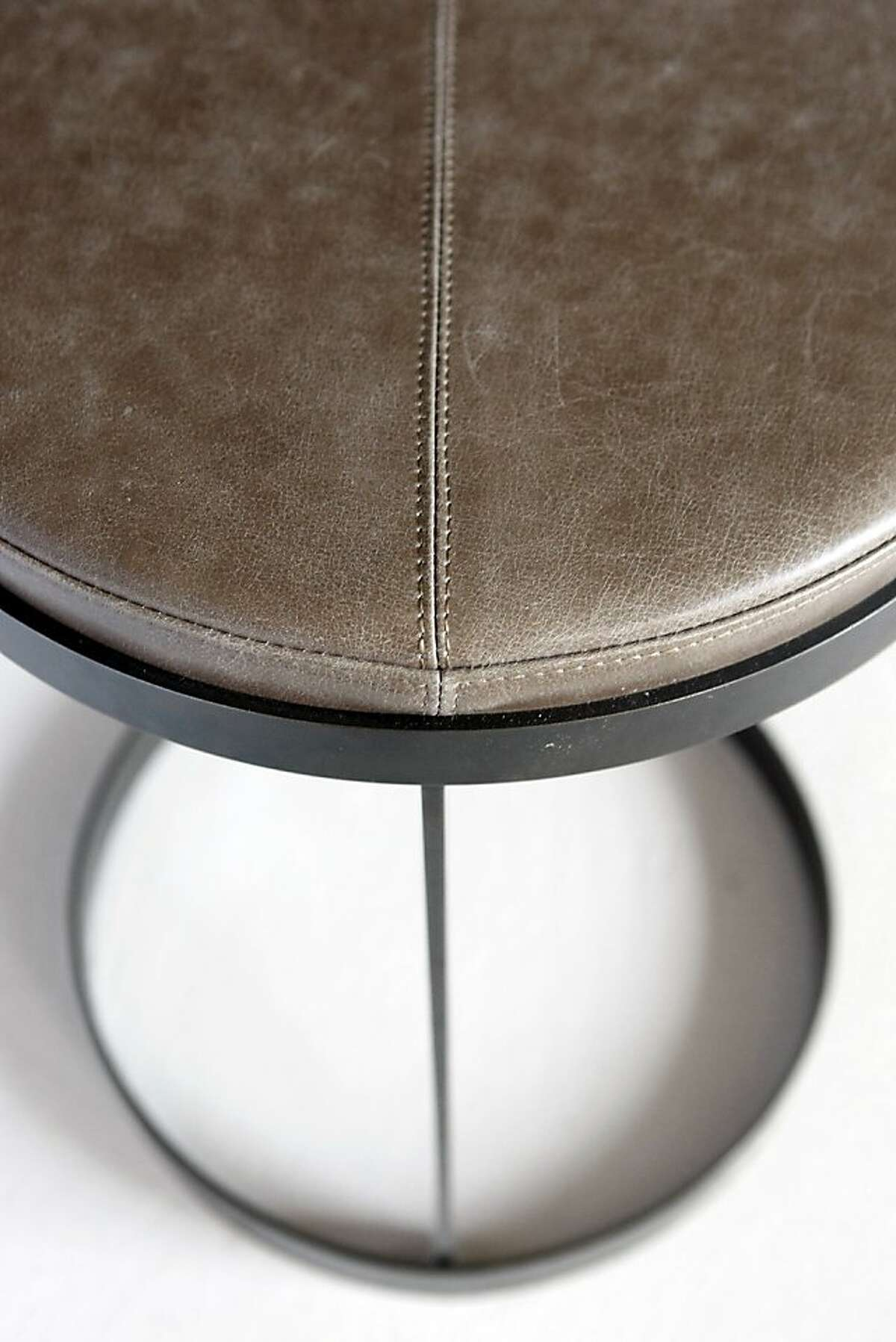 The PALLETstool from Branden Adams' collection, featured in the New West Coast Design 2 show.