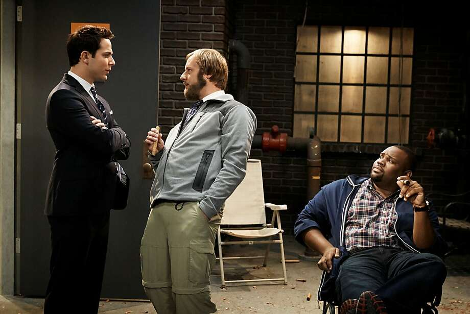 "Skylar Astin, Rory Scovel in ""Ground Floor,"" one of the worst shows on TV. Photo: Hopper Stone, TBS"
