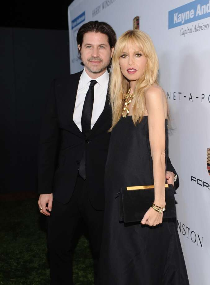 Rachel Zoe (R) and Rodger Berman attend the second annual Baby2Baby Gala, honoring Drew Barrymore, at Book Bindery on November 9, 2013 in Culver City, California. Photo: Stefanie Keenan, Getty Images For Baby2Baby