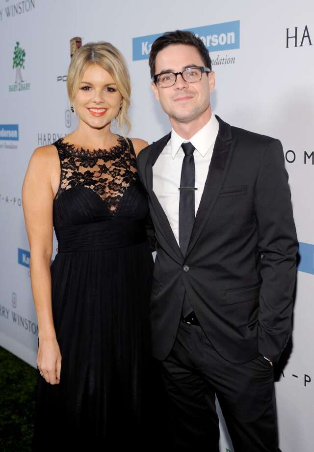 TV personalities Ali Fedotowsky (L) and Kevin Manno attend the second annual Baby2Baby Gala, honoring Drew Barrymore, at Book Bindery on November 9, 2013 in Culver City, California. Photo: Stefanie Keenan, Getty Images For Baby2Baby