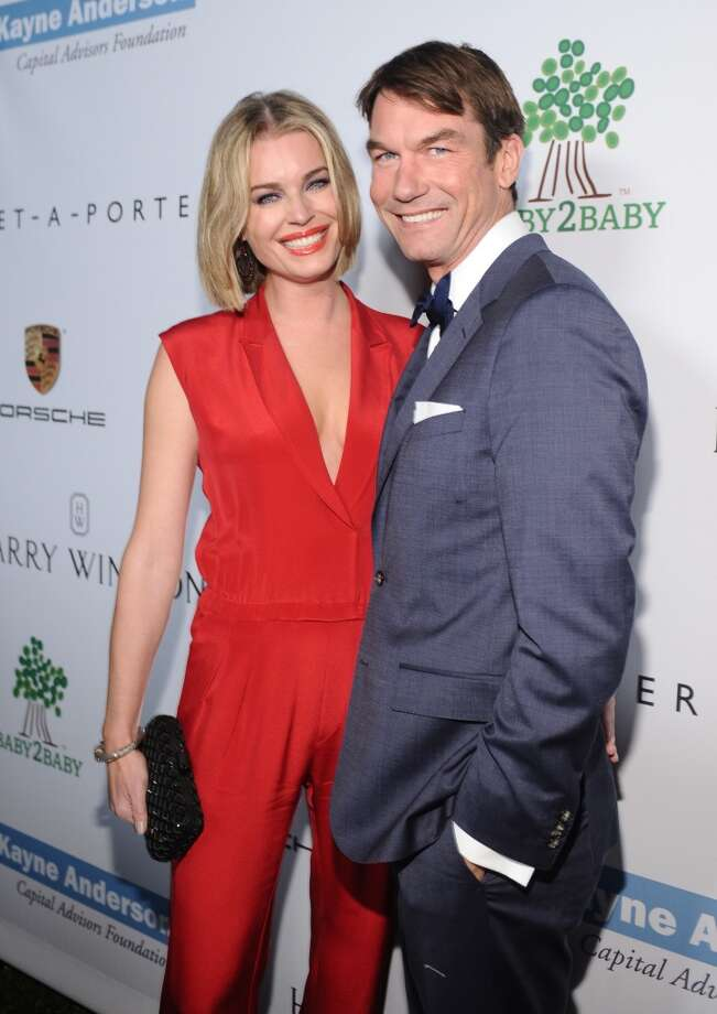 Actress Rebecca Romijn (L) and Jerry O'Connell attend the second annual Baby2Baby Gala, honoring Drew Barrymore, at Book Bindery on November 9, 2013 in Culver City, California. Photo: Stefanie Keenan, Getty Images For Baby2Baby
