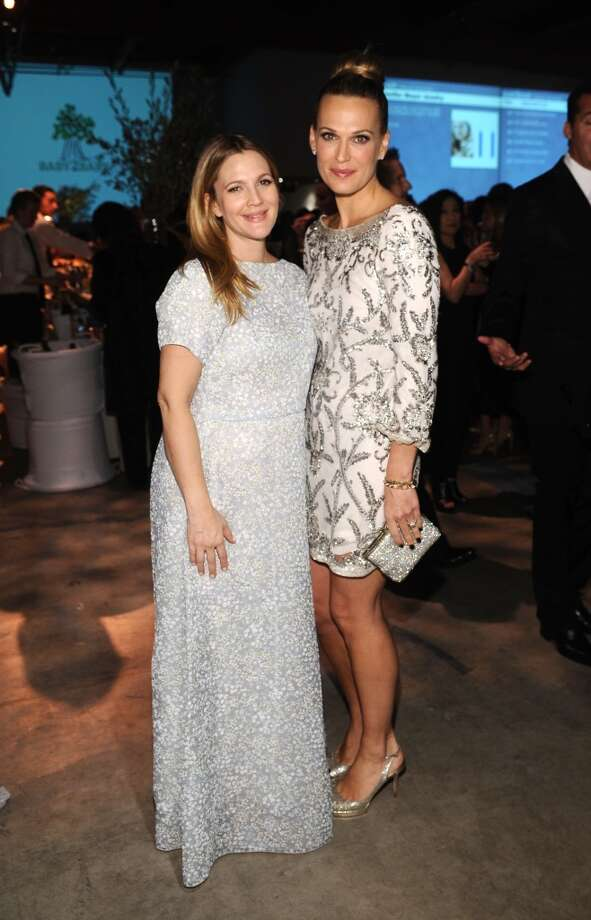 Honoree Drew Barrymore (L) and actress Molly Sims attend the second annual Baby2Baby Gala, honoring Drew Barrymore, at Book Bindery on November 9, 2013 in Culver City, California. Photo: Stefanie Keenan, Getty Images For Baby2Baby