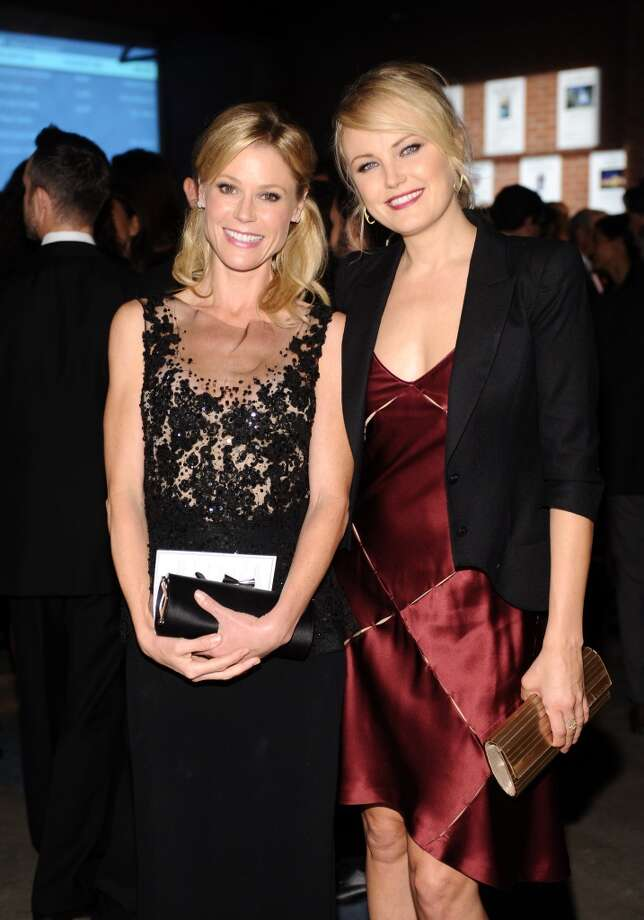 Baby2Baby board member Julie Bowen (L) and actress Malin Akerman attends the second annual Baby2Baby Gala, honoring Drew Barrymore, at Book Bindery on November 9, 2013 in Culver City, California. Photo: Stefanie Keenan, Getty Images For Baby2Baby