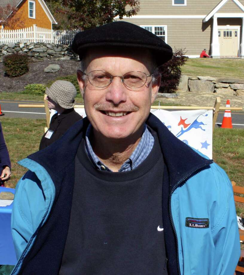 Peter Ohring, a member of the New Fairfield Board of Education, who died of a heart attack over the weekend. The photo was taken on New Fairfield Day, October 26. Photo: Contributed Photo/ Ken Chapman, Contributed Photo / The News-Times Contributed