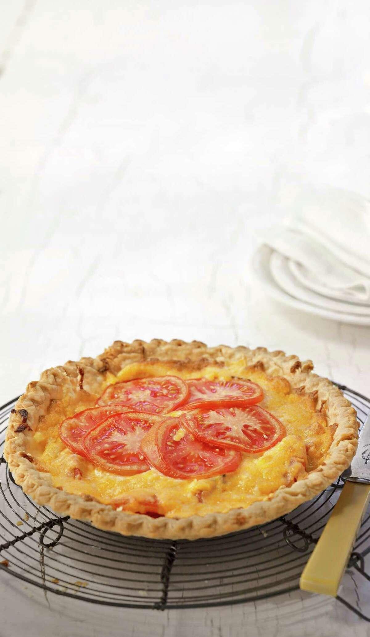 Country Living recipe for Tandi's Tomato Pie.