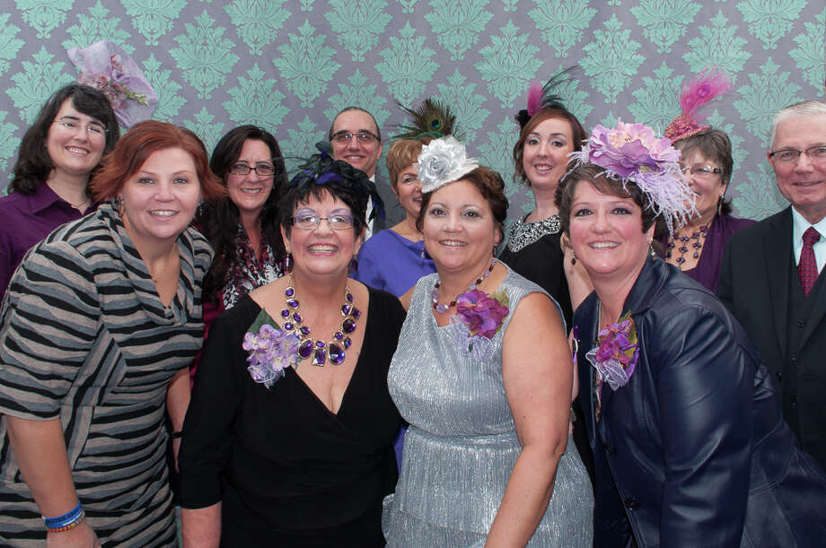 Board of directors of The Family and Friends of Liza Ellen Warner gather for a snapshot during the fourth annual ?On the Runway? fashion show fundraiser for domestic violence awareness on Oct. 27 at Hilton Garden Inn in Troy. (Vincent Nicholas)